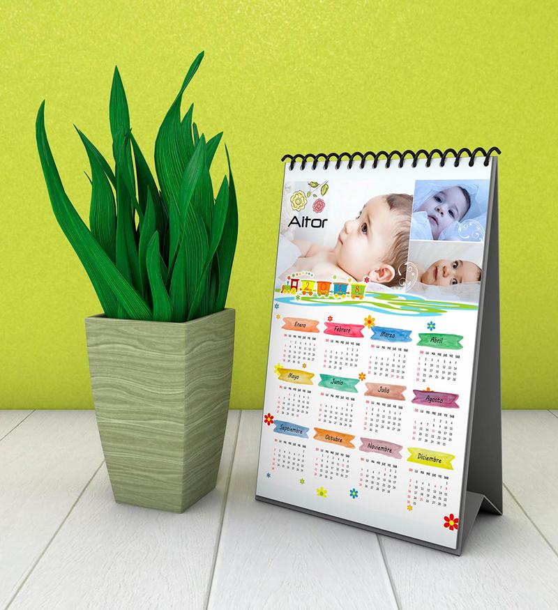 Calendario sobremesa infantil