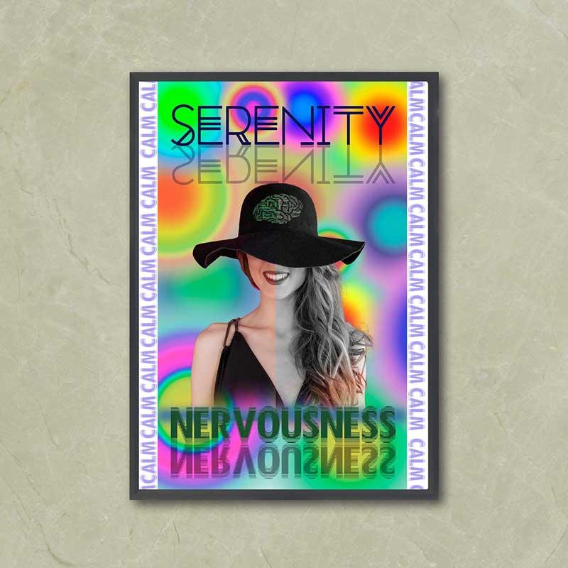 Chica sombrero serenity