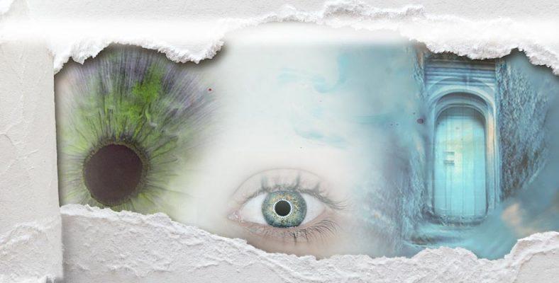 diseño ojo y puerta de la cabecera