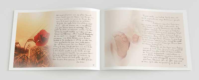 página muestra libro Memorias