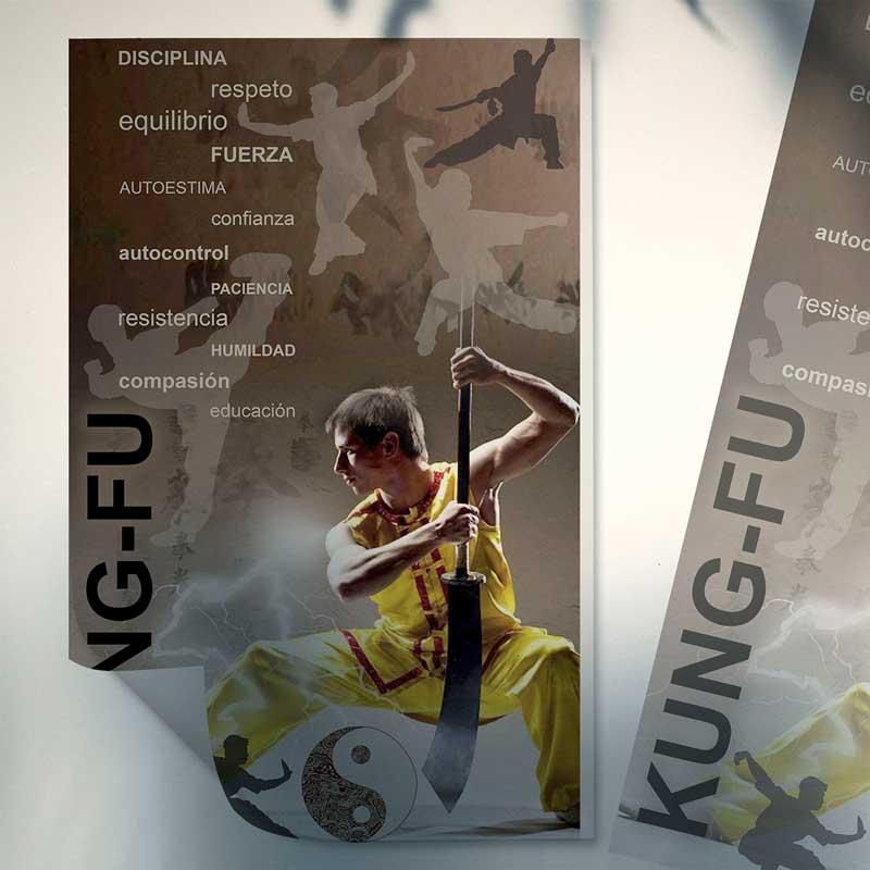 póster Kung-fu Jing-Li