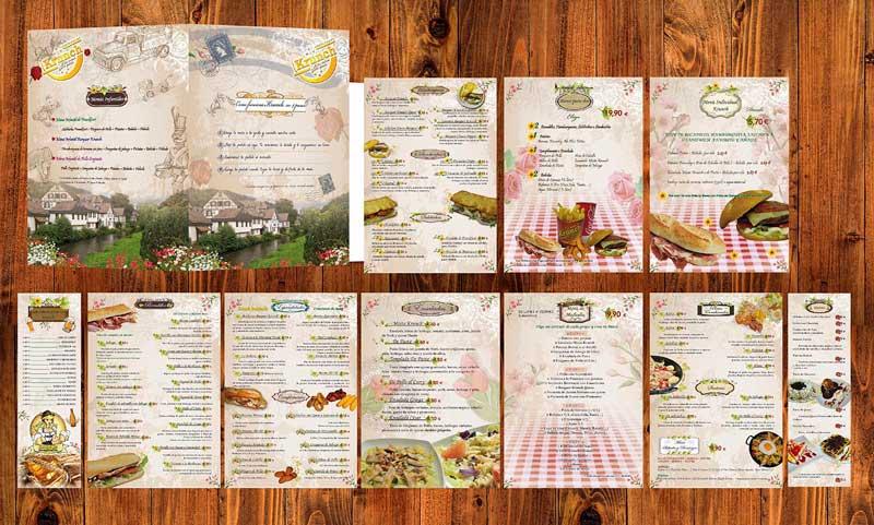 Carta Restaurante Krunch