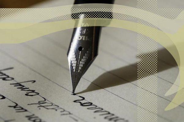 Pluma escribiendo