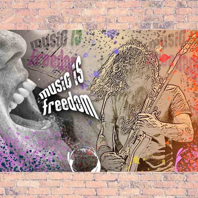 Música es libertad