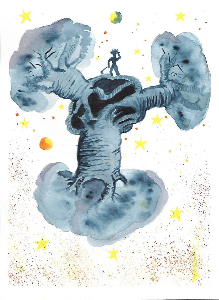 Baobab del Principito a mi manera
