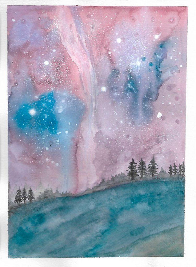 Paisaje nebulosa
