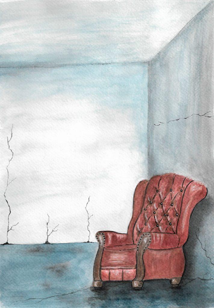rincón con sillón