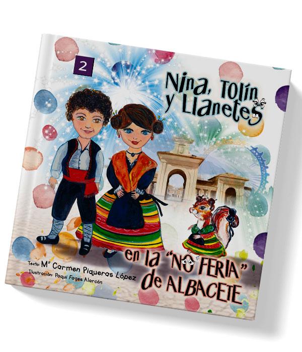 Cuento Nina, Tolín y Llanetes en la No Feria de Albacete