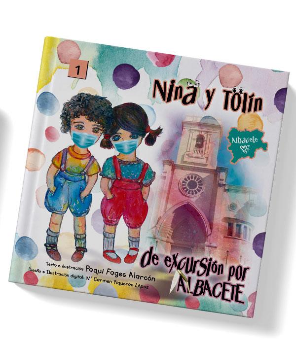 Nina y Tolín de excursión por Albacete