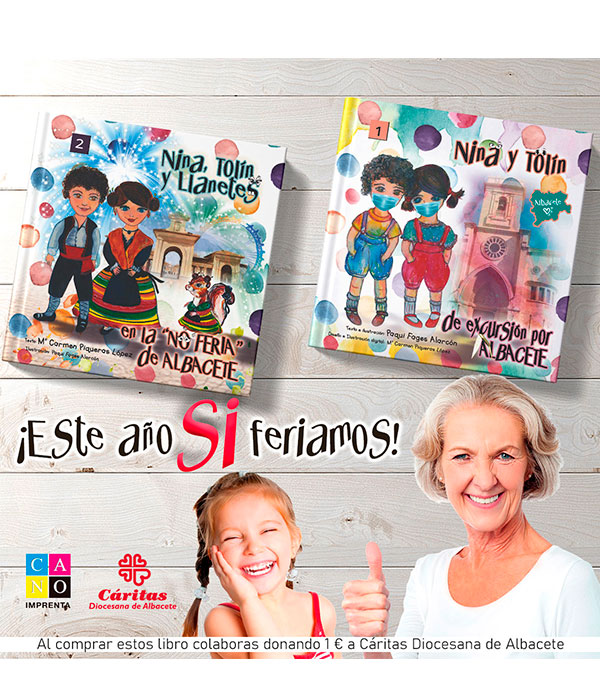 markéting libros Nina y Tolín