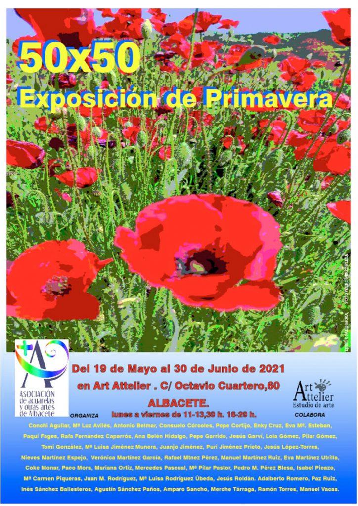 cartel de la exposicíón de Primavera